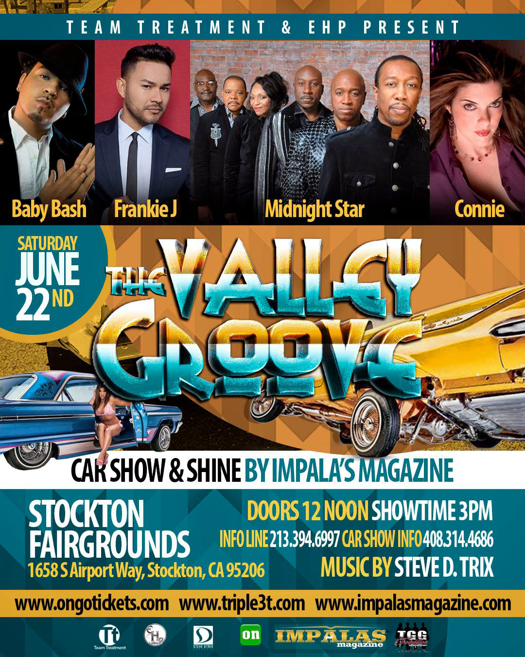 The Valley Groove Saturday June 22 – Connie Live