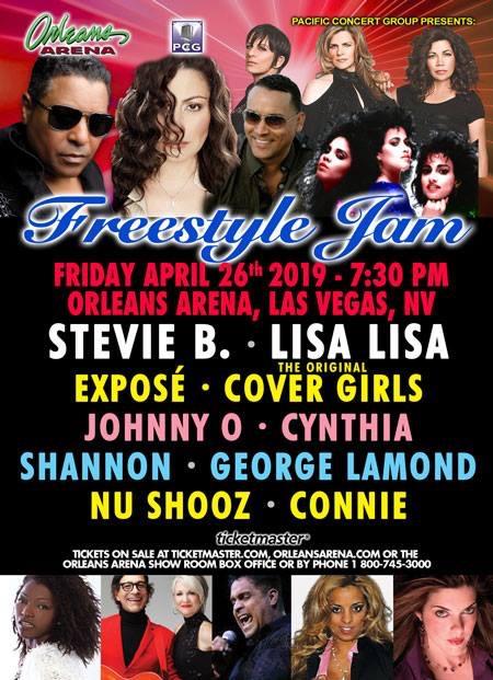 Freestyle Jam April 26 Orleans Arena Las Vegas Nevada